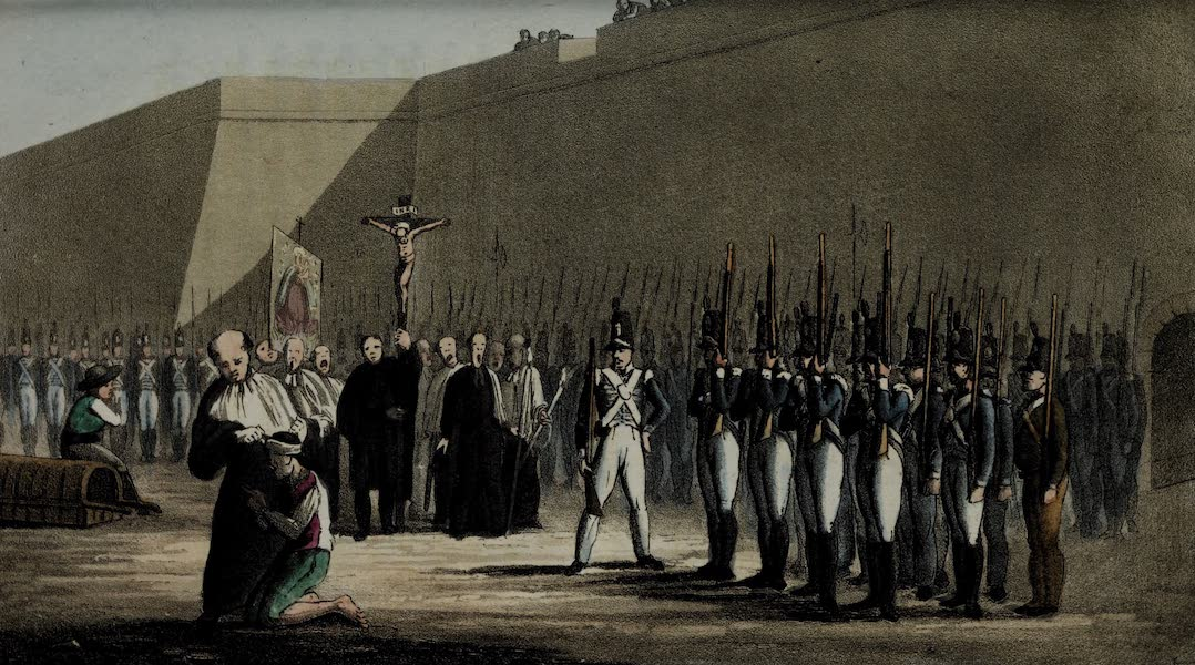 Sketches of Portuguese Life - Military Execution (1826)