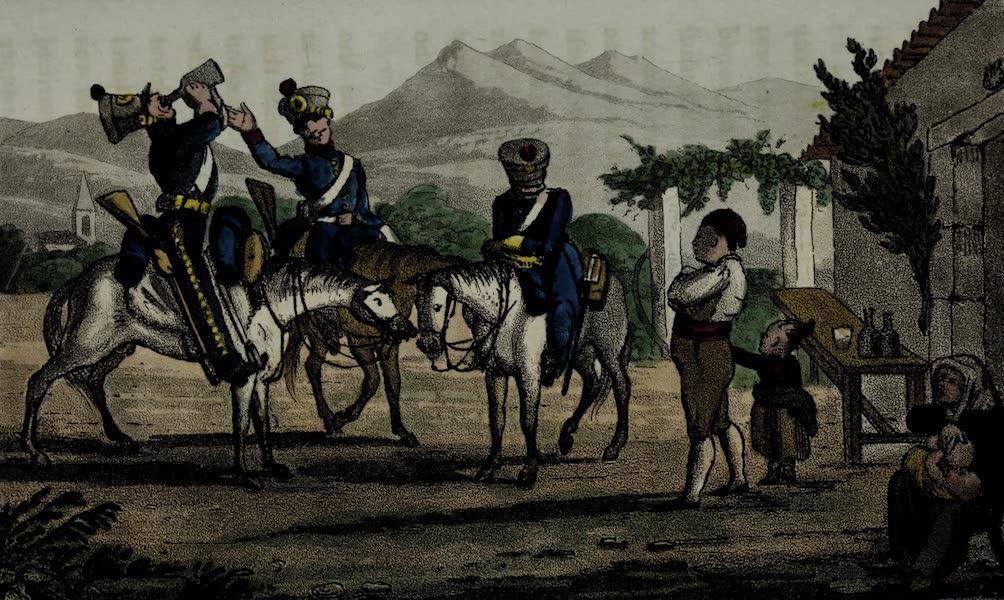 Sketches of Portuguese Life - Portuguese Dragoons (1826)