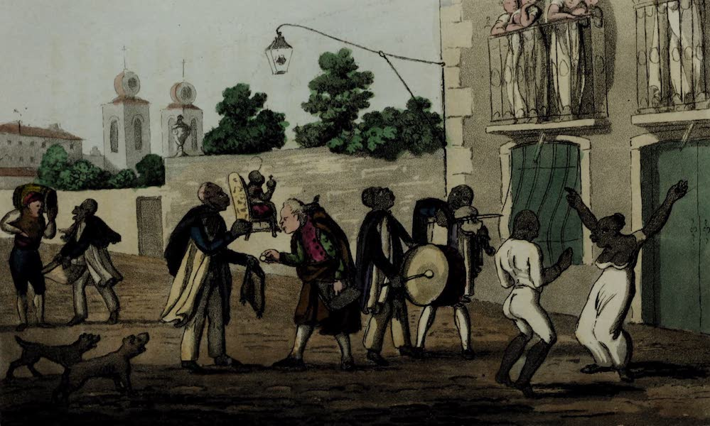 Sketches of Portuguese Life - Begging for the Festival of N.S. d'Atalaya (1826)