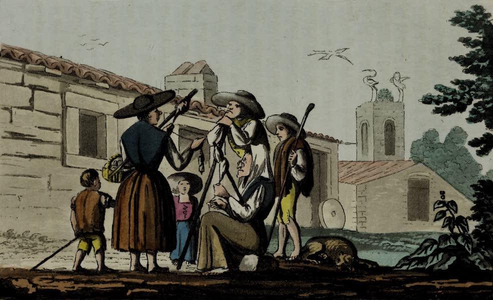 Sketches of Portuguese Life - Province of Beija. Inhabitants of Foz de Arouce (1826)