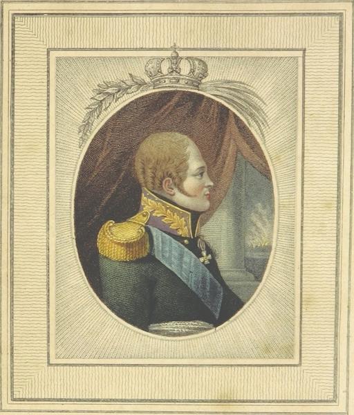 Sketches of Russia - Emperor Alexander (1814)
