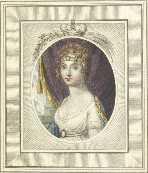 Sketches of Russia - The Empress of Russia (1814)