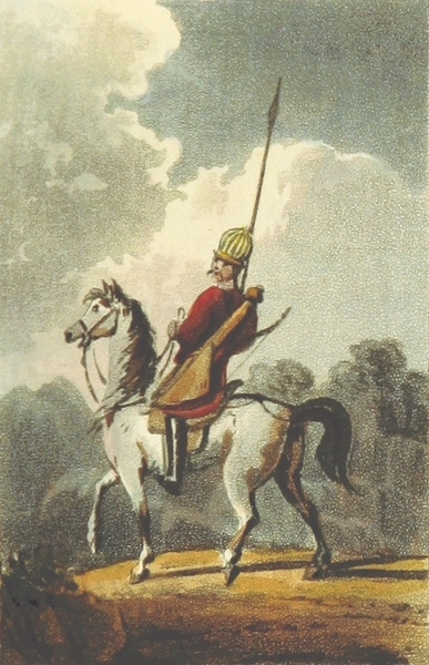 Sketches of Russia - A Circassian in his Military Costume (1814)