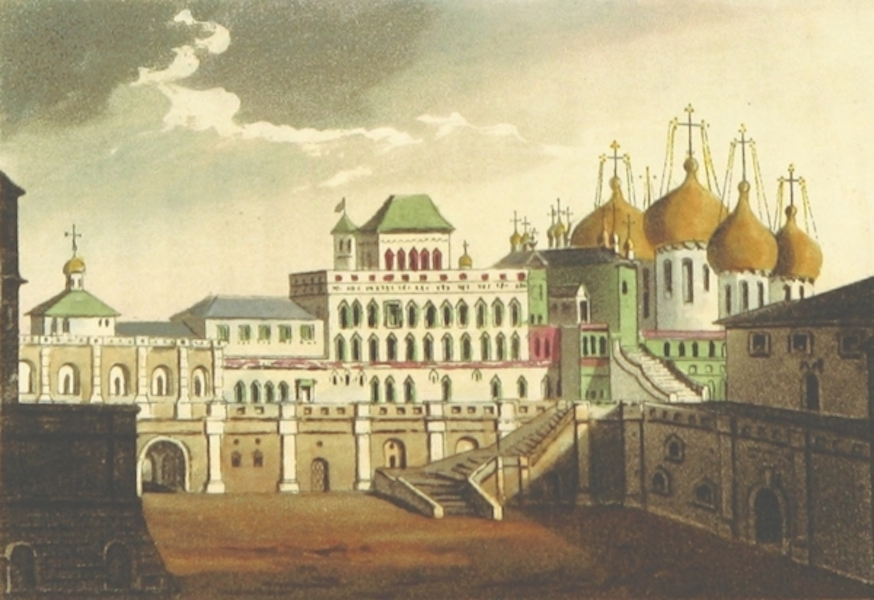 Sketches of Russia - The Palace of the Czars in the Kremlin (1814)