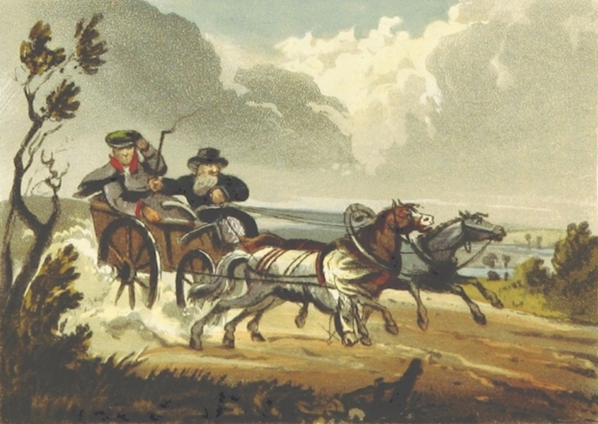 Sketches of Russia - Russian mode of travelling in summer (1814)