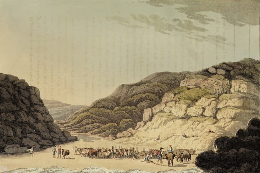 Sketches of Portugal and Spain - Creek of Maceira (1809)