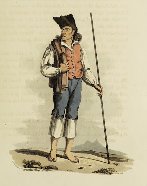 Sketches of Portugal and Spain - Peasant of Torres Vedras (1809)