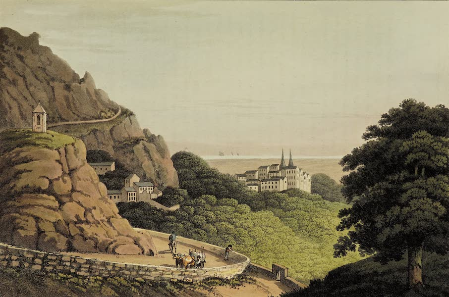 Sketches of Portugal and Spain - Cintra from the Lisbon Road (1809)