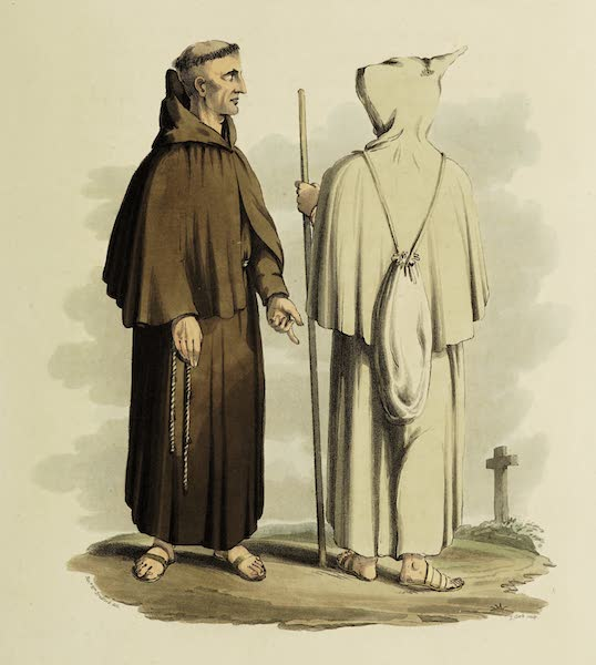 Sketches of Portugal and Spain - Franciscans (1809)