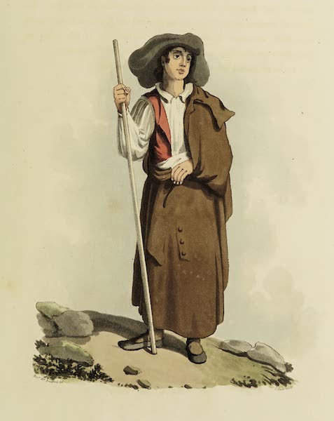 Sketches of Portugal and Spain - A Peasant Boy of Nisa (1809)