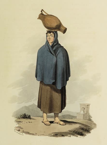 Sketches of Portugal and Spain - Girl of Guarda (1809)
