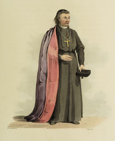 Sketches of Portugal and Spain - Bishop of Guarda (1809)