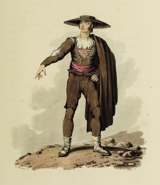 Sketches of Portugal and Spain - Peasant of the Corregimiento of Salamanca (I) (1809)