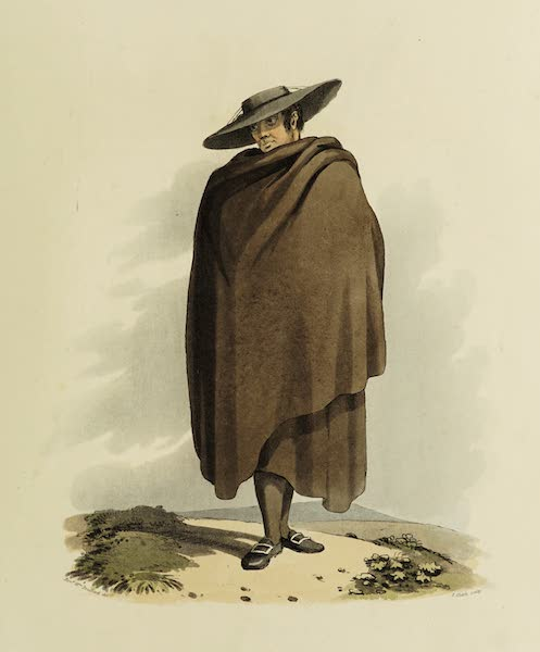 Sketches of Portugal and Spain - Peasant of the Corregimiento of Salamanca (II) (1809)