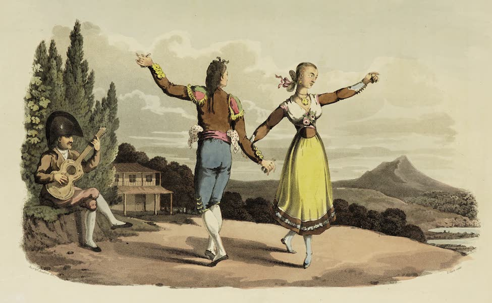 Sketches of Portugal and Spain - The Boleras Dance (1809)