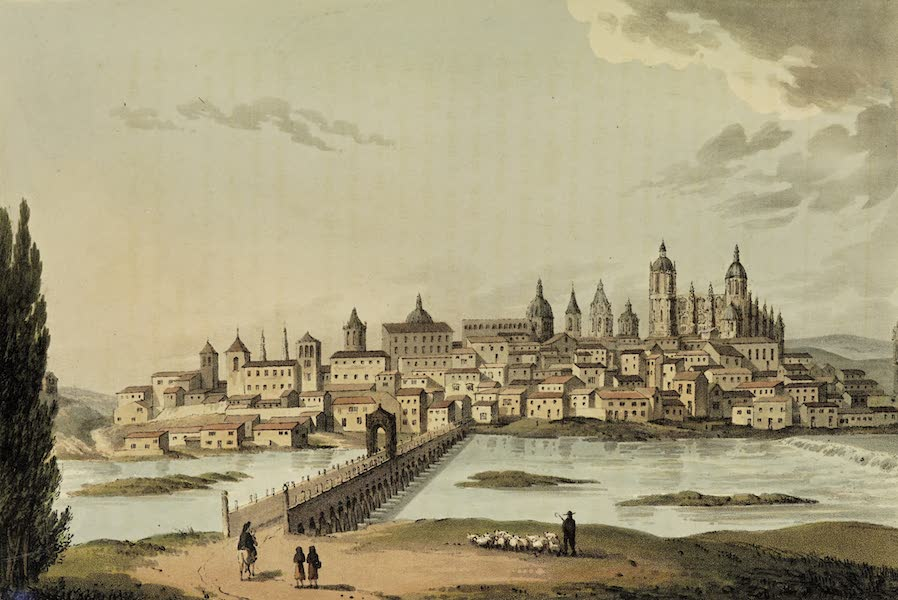 Sketches of Portugal and Spain - Salamanca (1809)