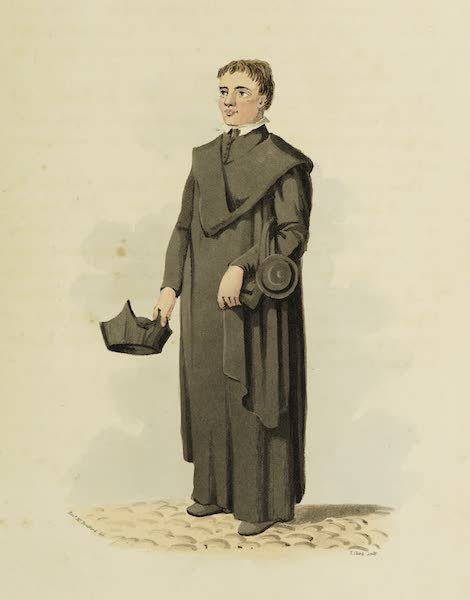 Sketches of Portugal and Spain - A Student of the Irish College, Salamanca (1809)