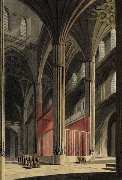 Sketches of Portugal and Spain - Interior of the Cathedral of Salamanca (1809)