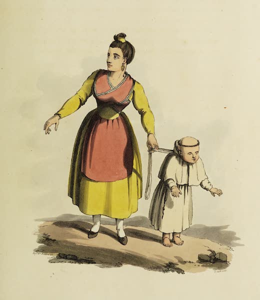 Sketches of Portugal and Spain - An Infant Capuchin (1809)