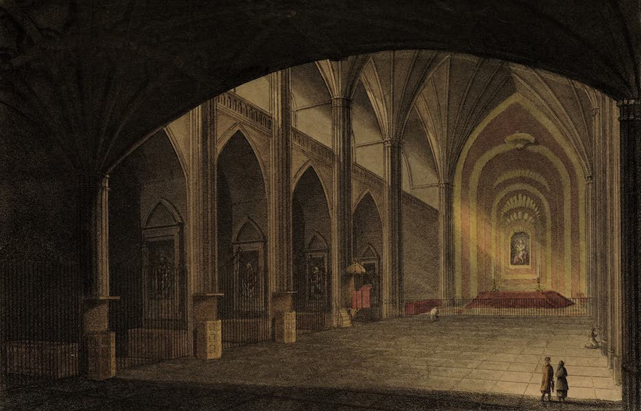 Sketches of Portugal and Spain - Interior of the Dominican Church, Salamanca (1809)