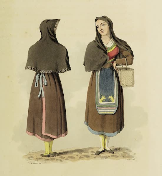 Sketches of Portugal and Spain - Servant Girls of Salamanca (1809)