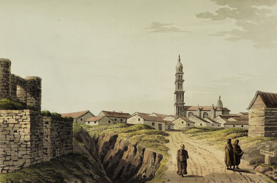 Sketches of Portugal and Spain - Aliejos, a town in the Plains of Leon (1809)