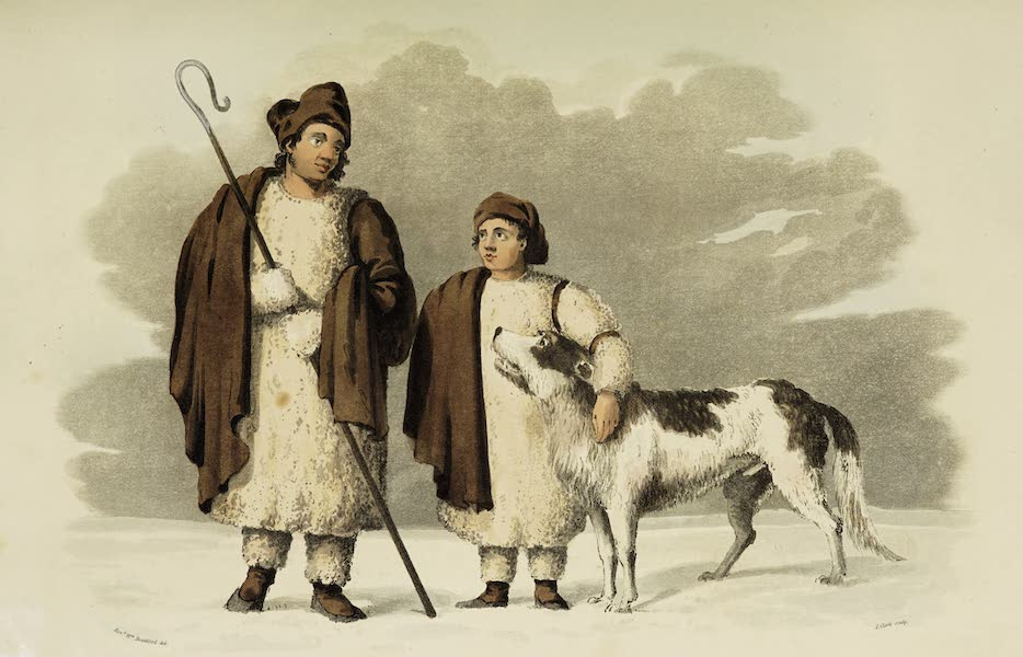 Sketches of Portugal and Spain - Shepherds of the Plains of Leon (1809)