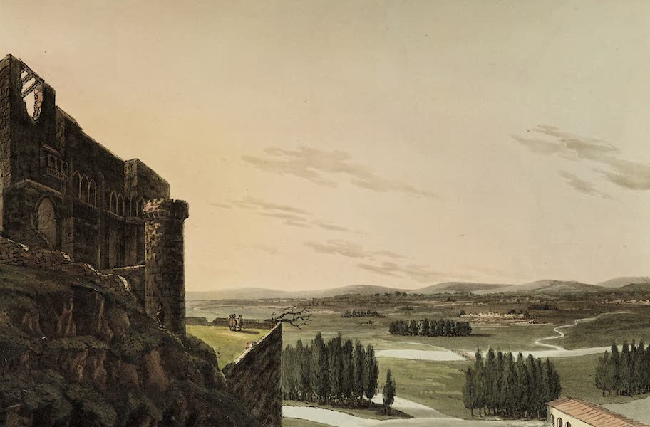Sketches of Portugal and Spain - Castle of Benevente (1809)