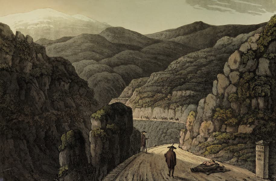 Sketches of Portugal and Spain - Pass of Manzanal (1809)