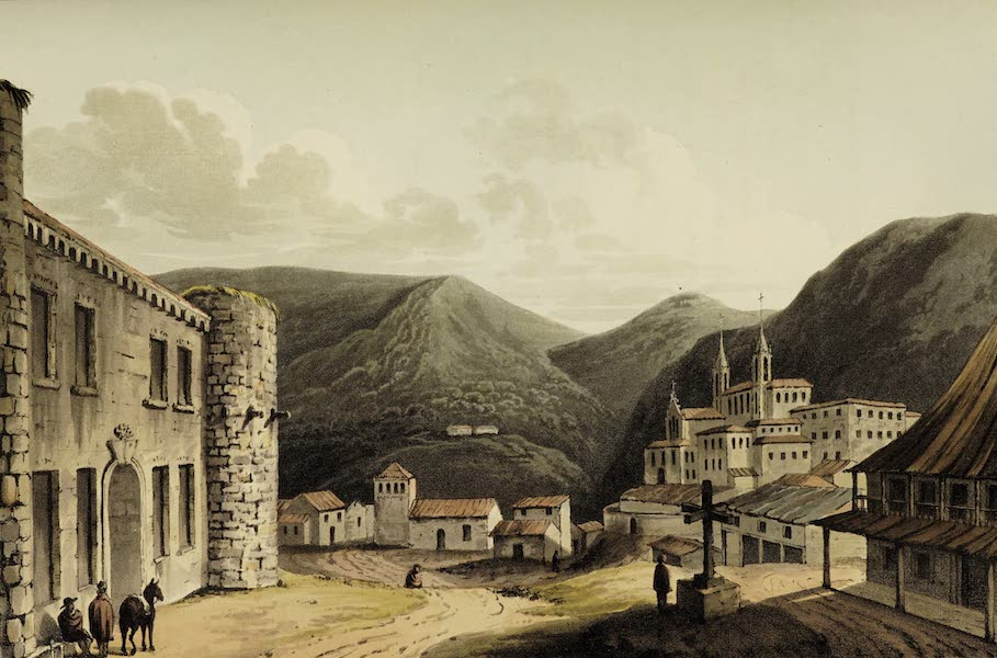 Sketches of Portugal and Spain - Villa Franca (1809)