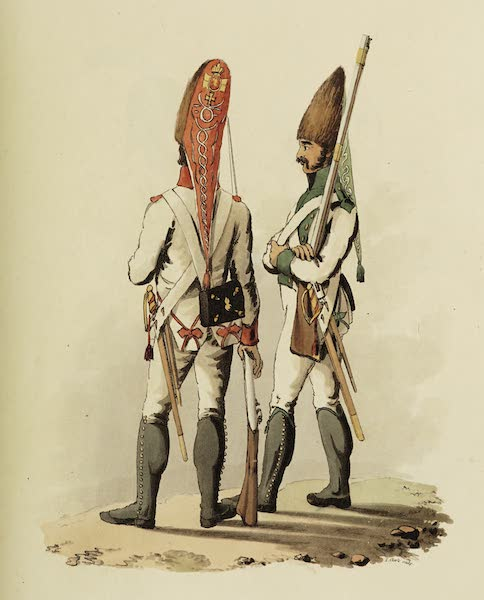 Sketches of Portugal and Spain - Spanish Grenadiers (1809)