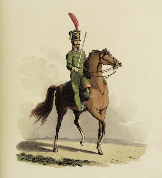 Sketches of Portugal and Spain - Spanish Light Horse (1809)