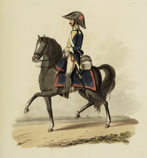 Sketches of Portugal and Spain - Spanish Heavy Horse (1809)