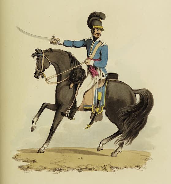Sketches of Portugal and Spain - Portuguese Regiment of Alcantara (1809)