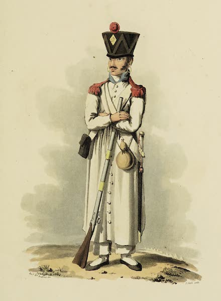Sketches of Portugal and Spain - A Private of French Infantry (1809)