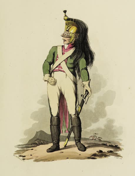 Sketches of Portugal and Spain - A French Dragoon (1809)