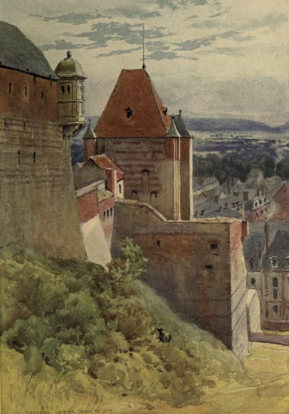Sketches on the Old Road Through France to Florence - Dieppe, Fifteenth-Century Castle (1904)