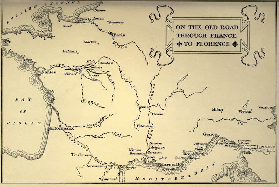 Sketches on the Old Road Through France to Florence - On the Old Road from France to Florence (1904)