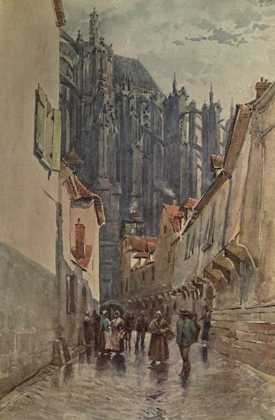Sketches on the Old Road Through France to Florence - Beauvais, East End of the Cathedral, 1247 (1904)