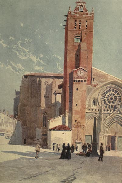 Sketches on the Old Road Through France to Florence - Toulouse, Cathedral of St. Etienne (1904)