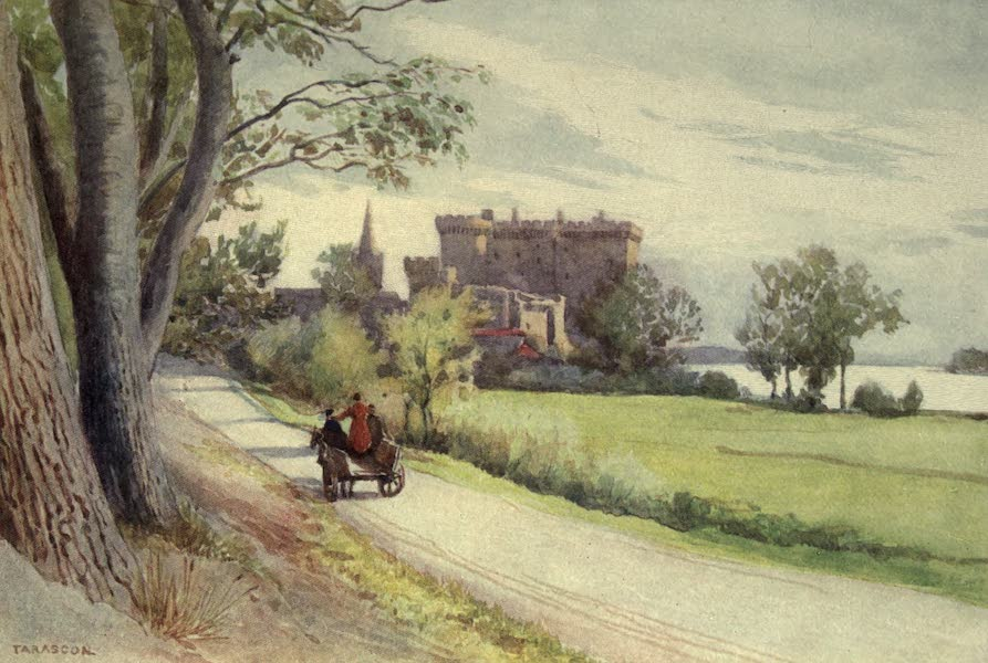 Sketches on the Old Road Through France to Florence - Tarascon, the Castle (1904)
