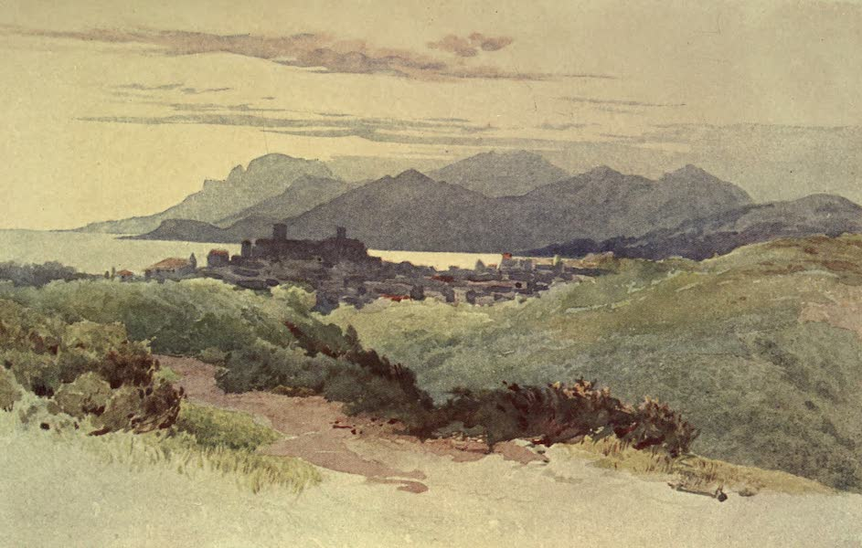 Sketches on the Old Road Through France to Florence - Antibes (1904)