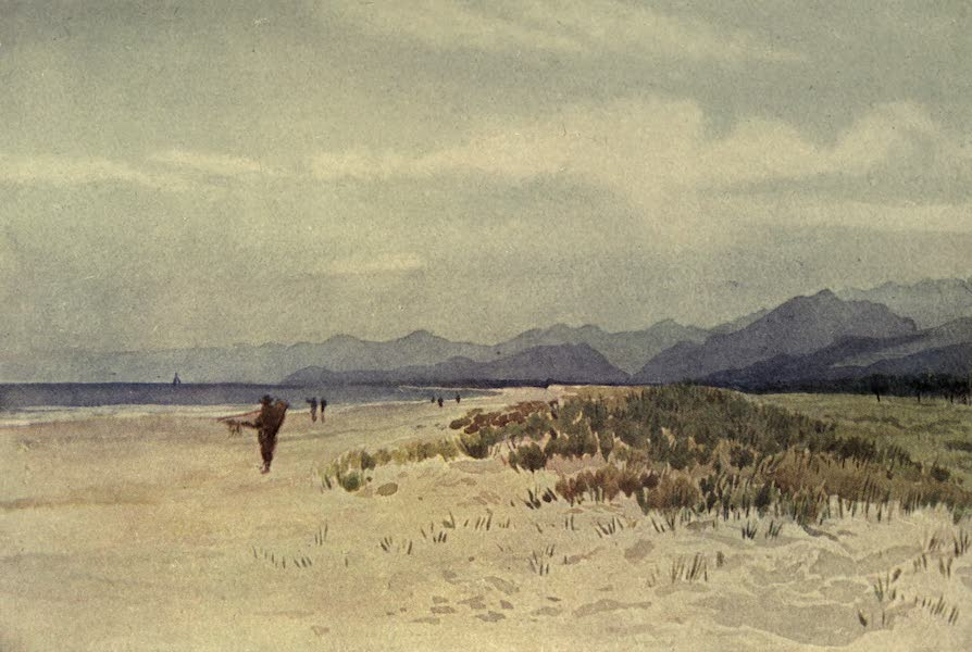 Sketches on the Old Road Through France to Florence - The Sea-coast North of Viareggio (1904)