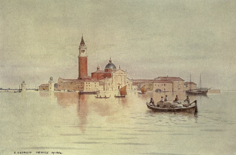 Sketches on the Old Road Through France to Florence - Venice, San Giorgio (1904)