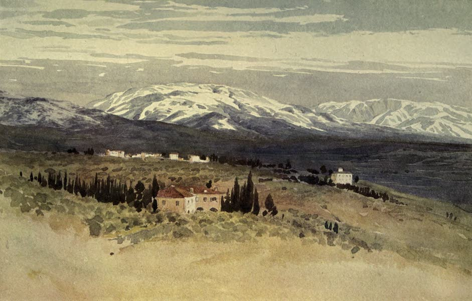 Sketches on the Old Road Through France to Florence - Florence, Looking South-east from San Domenico After a Fall of Snow (1904)