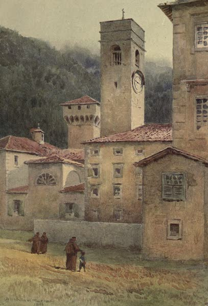 Sketches on the Old Road Through France to Florence - Vallombrosa, Abbey (1904)