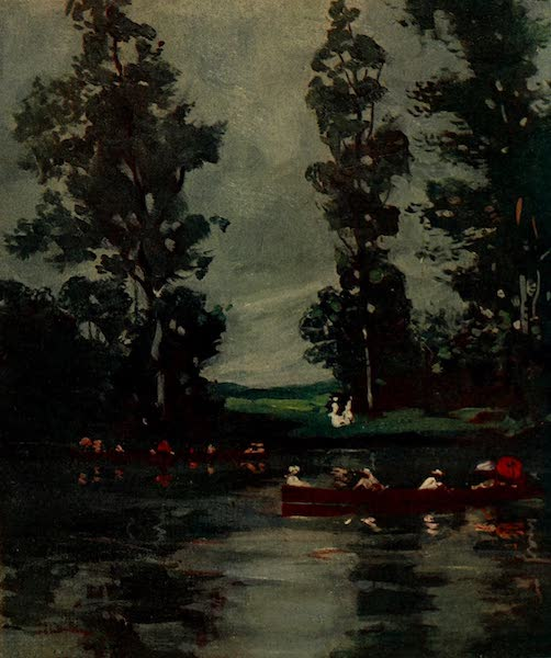 South America, Painted and Described - Boating in the Tigre, near Buenos Aires (1912)