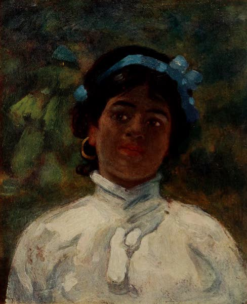 South America, Painted and Described - A Little Guarani-Spanish Girl, Corrientes (1912)
