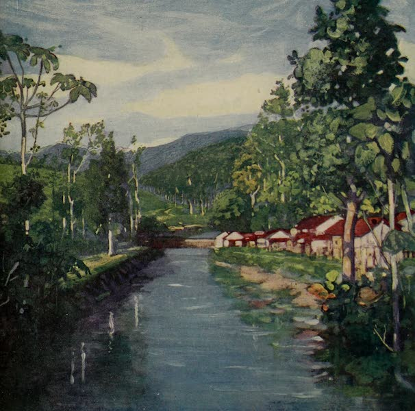South America, Painted and Described - The Macacu River, near Friburgo (1912)