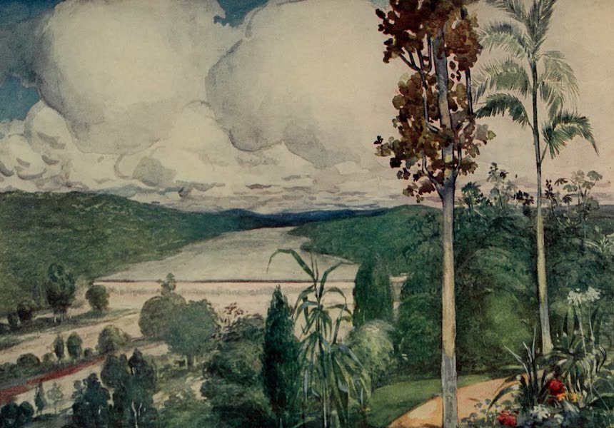 South America, Painted and Described - The Falls of the River Tiete at Paranahyba (1912)